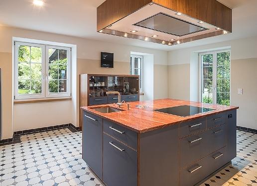 Küche Linoleum, Schneider Küchenbau
